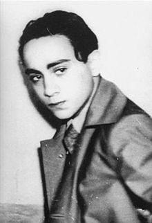 Хершел Файбел Гринспан, точно след ареста му, след като е убил немския дипломат