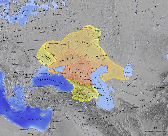 Хазарски хаганат 650 г. — 969 г.