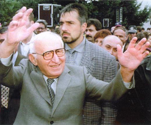 Тодор Жовков с Бойко Борисов - Рапона (като охранител)