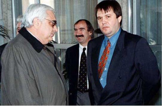 Андрей Луканов и Илия Павлов
