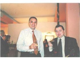 Иван Костов и Методи Иванов през 1999 г.