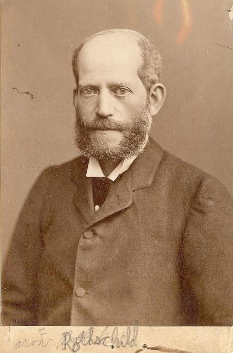 Барон Фердинанд Ротшилд (1839-1898 г.), австрийски банкер, шеф на Виенския клон на фамилията Ротшилдови.