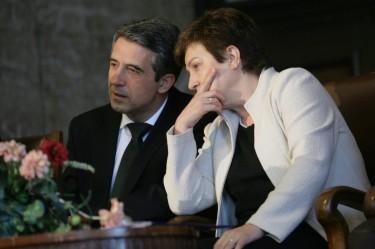 Росен Плевнелиев и Кристалина Георгиева
