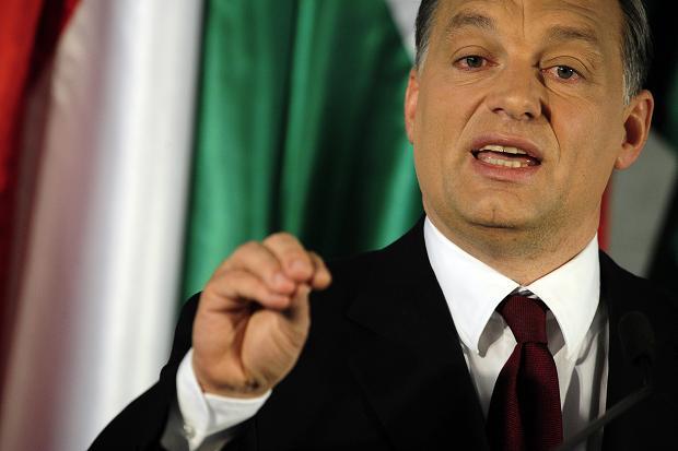 Mинистър-председателя на Унгария Виктор Орбан