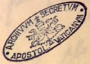 stamp-from-a-doc-in-vatican-secret-archive