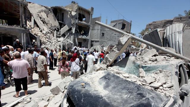 LIBYA NATO BOMB