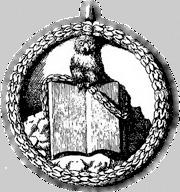 """Кукумявката на """"Minerva"""" кацнала на една книга е емблема използвана от баварските Илюминати в тяхната """"Minerval"""" степен."""