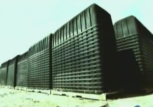 FEMA-incineration-containers