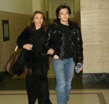 Джроджо с майка си – Катрин Маркова