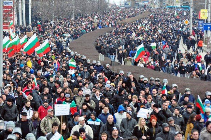 17 февруари 2013 г., Варна, национален протест