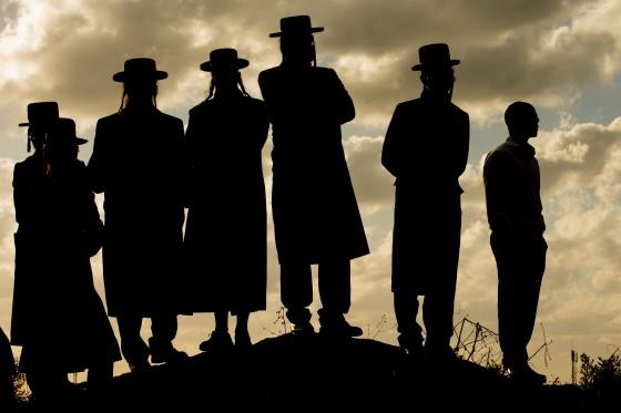 TOPSHOTS-ISRAEL-RELIGION-JEWISH-ORTHODOX-ARMY-DEMO