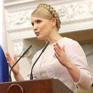 """""""Славянизираната"""" Юлія Володимирівна Тимошéнкo"""