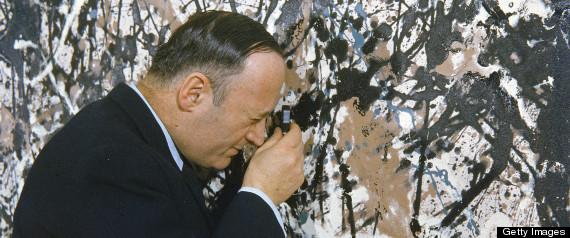 Rorimer Examines A Pollock