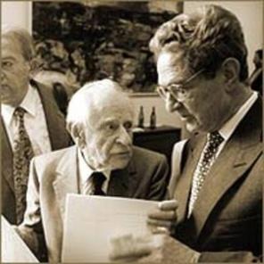 Карл Попър и Джордж Сорос