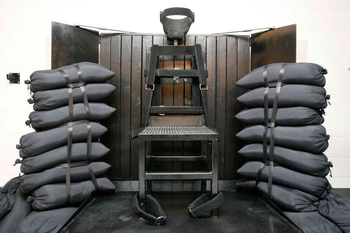 Нота на редактора: това е мястото, където се екзекутирват осъдените на смърт. Вече е имало извършени присъди чрез растрел.