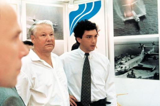 Елцин и Немцов