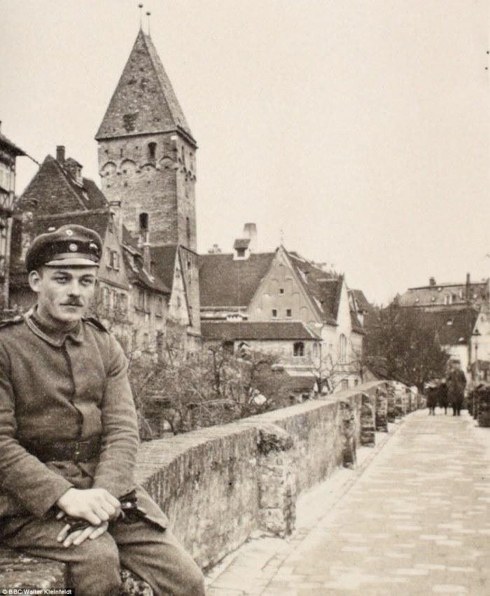 Валтер в град Улм, 1915 г.