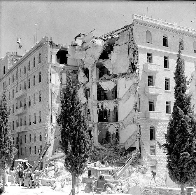 Хотел Крал Давид след атентата