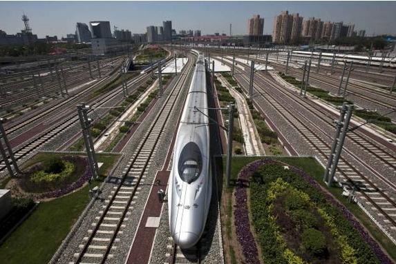 Нова железопътна линия в Китай
