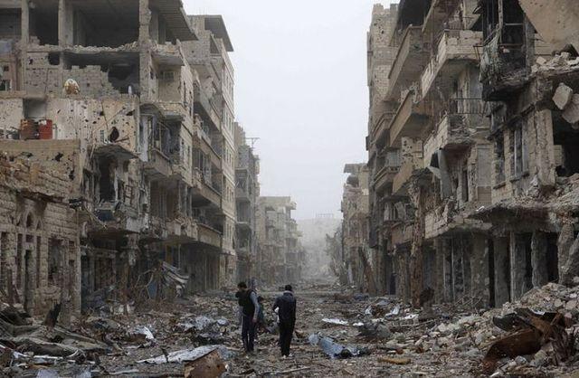 Вижте още няколко снимки от Сирия днес.