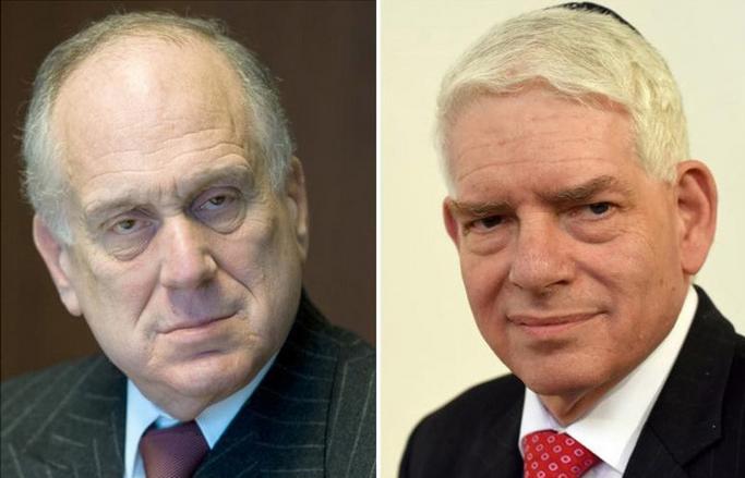 Роналд Лаудер и Йозеф Шустер