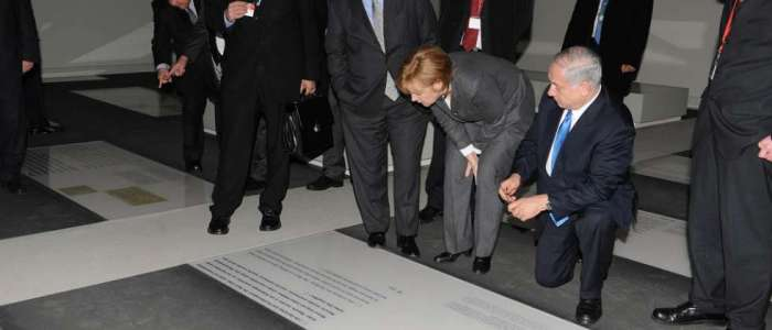Ангела Меркел и Бенямин Нетаняху