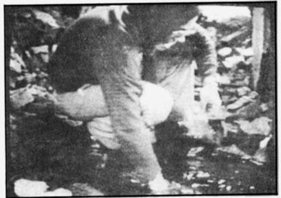 Фред Лейхтер взима проби от Аушвиц