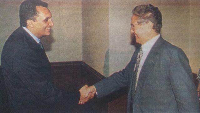 Костов, инсталиран във властта с помощта на Джордж Сорос