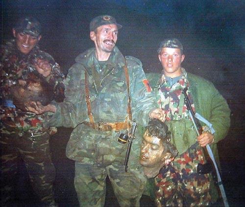 Албански терористи в Косово