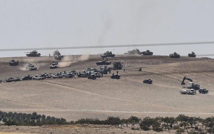 Турските сили в западна Сирия. (снимка: southfront.org)